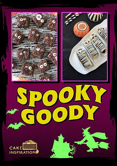 Spooky Goody - Brownies & Eclairs box of 6 pcs / 1 day lead time