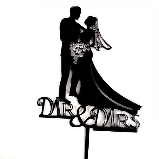 Wedding Cake - acrylic tag ( s212 )