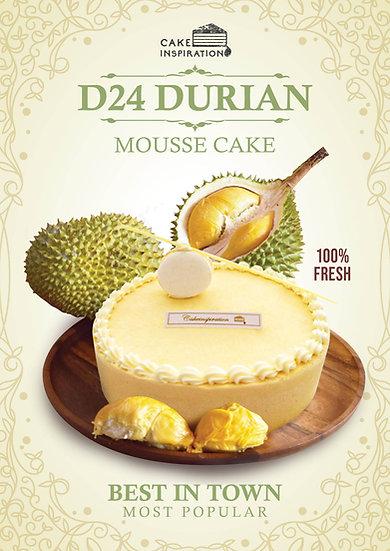D24 Durian cake (best seller)