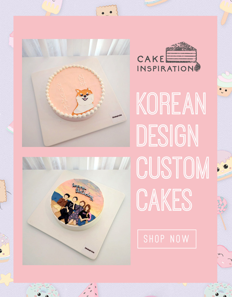Korean Cartoon Cakes