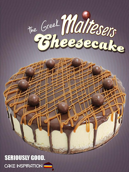 Malteser Greek Cheesecake