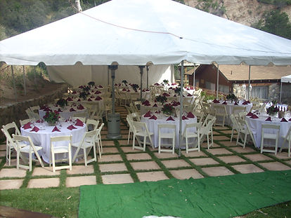Banquet setting table canopy.JPG