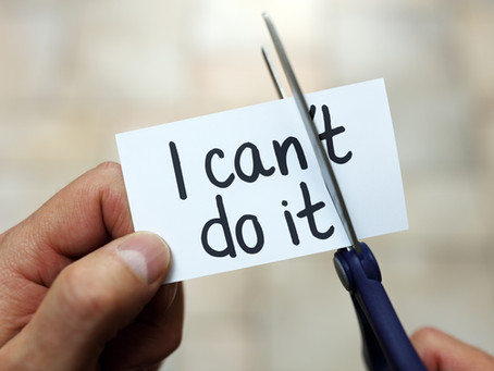Vous pouvez le faire !