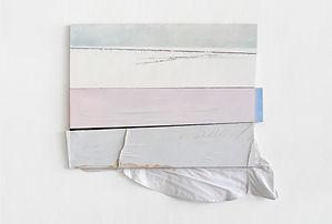 weiße Fahne 7,2010,Öl,Acryl,Hemd,Holz,83