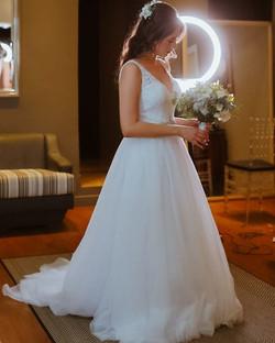 Sabe aquela noiva elegante...