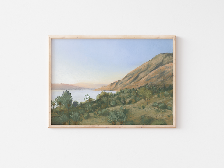 """Alongside the Sea"" Fine Art Print"