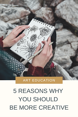 We hear about creativity and how it can be useful, but we don't always understand why it's important. Here are 5 reasons why you should be more creative - plus a FREE mini workshop on how to Awaken Your Creativity!
