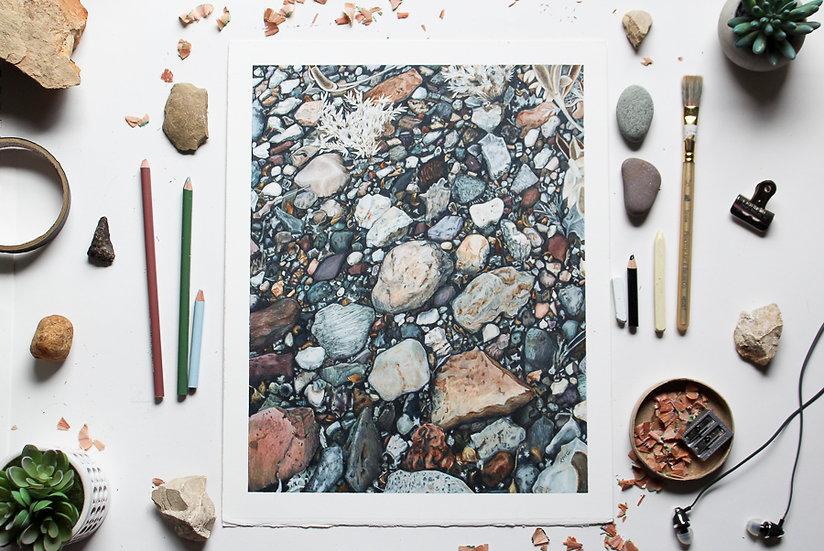 """Put the Rock Back"" Original Art"