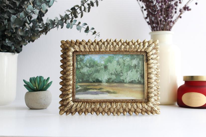 """Framed """"Amber"""" Print 1"""