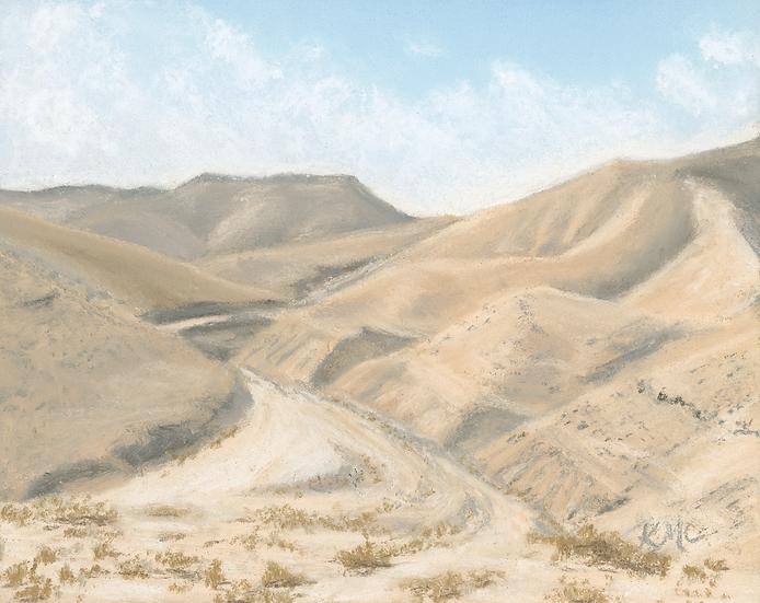 """""""Into the Wilderness"""" Original Art"""