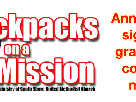 South Shore supports Backpacks MLK events...