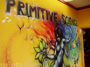 Mural for Primitive Science