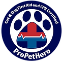 certified in pet cpr and first aid