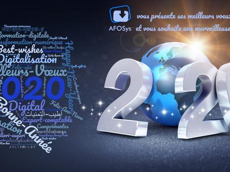 AFOSys vous présente ses meilleurs vœux pour cette nouvelle année !