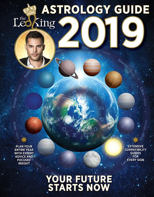 THE LEO KING 2019 ASTROLOGY GUIDE MAGAZINE HOROSCOPE