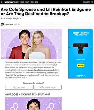 Are Cole Sprouse and Lili Reinhart Endgame or Are They Destined to Breakup?