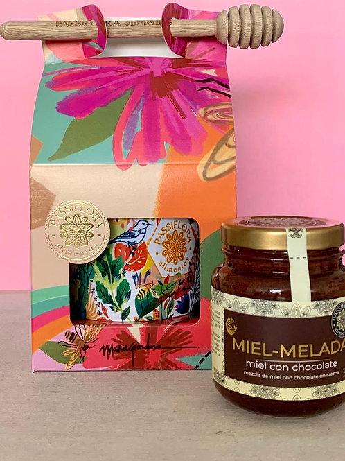 Caja Flores con Miel-Melada