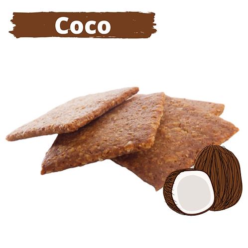 Galletas Cracker de Coco
