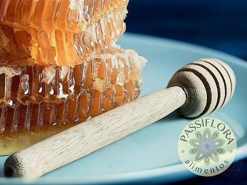 Servidor de mieles de madera