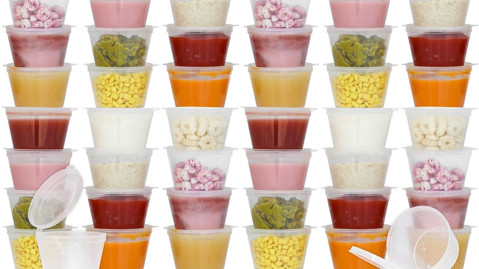 Disposable Baby Food Containers