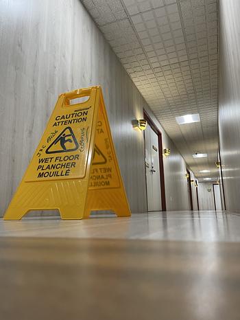sweeping floor J andc