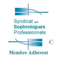 Sophrologue adherent au Syndicat des Sophrologues Professionnels