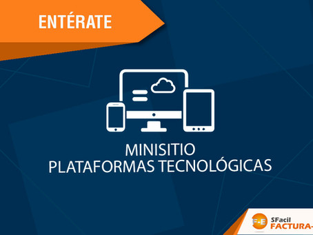 MINISITIO PLATAFORMAS TECNOLÓGICAS
