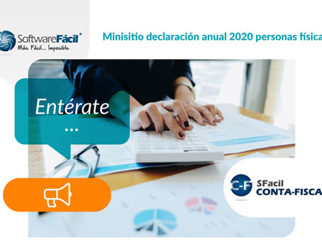 MINISITIO DECLARACIÓN ANUAL 2020 PERSONAS FÍSICAS