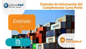 ESTÁNDAR DE INFORMACIÓN DEL COMPLEMENTO CARTA PORTE