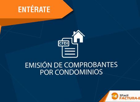 EMISIÓN DE COMPROBANTES POR CONDOMINIOS