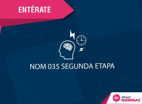 NOM 035 SEGUNDA ETAPA