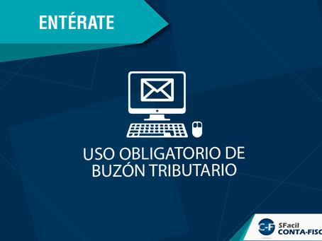 USO OBLIGATORIO DE BUZÓN TRIBUTARIO