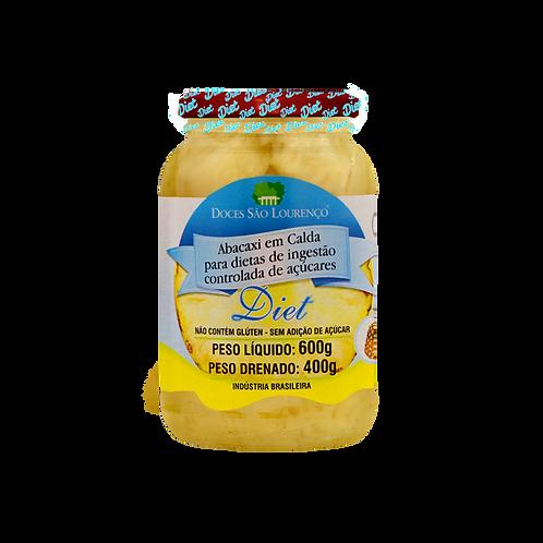Abacaxi em Calda Diet 600g