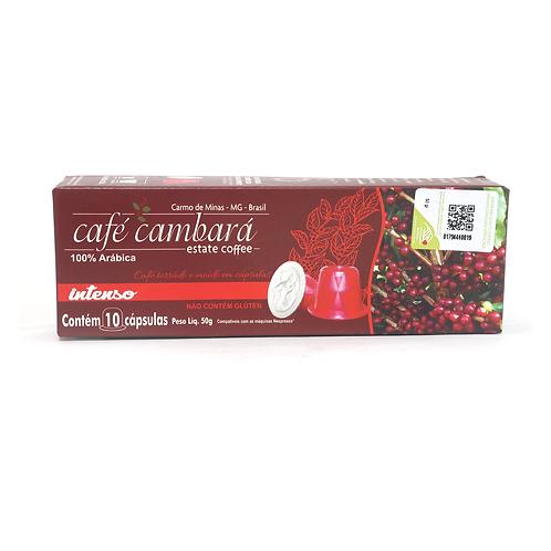Café Cambará Cápsula  Intenso 50g.