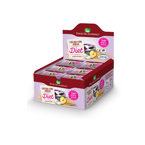 Display 24und. - Cocada com Ameixa Diet 20g