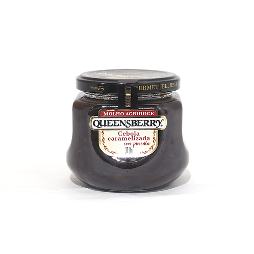 Geleia de Cebola Caramelizada Queensberry 320g.