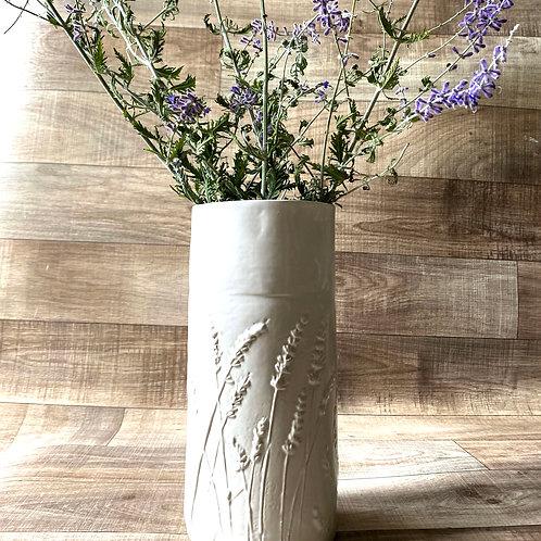 Large Lavender Vase