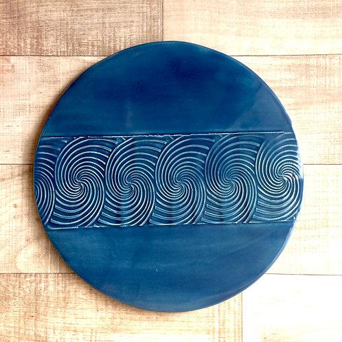 Swirl Cheese Plate