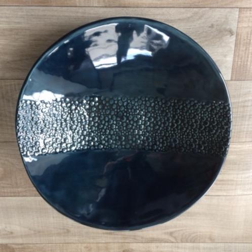 Dark Blue Serving Bowl