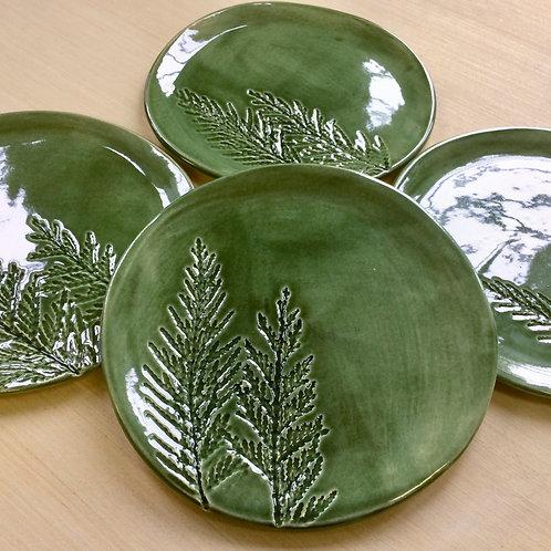 Pineland Dessert Plate