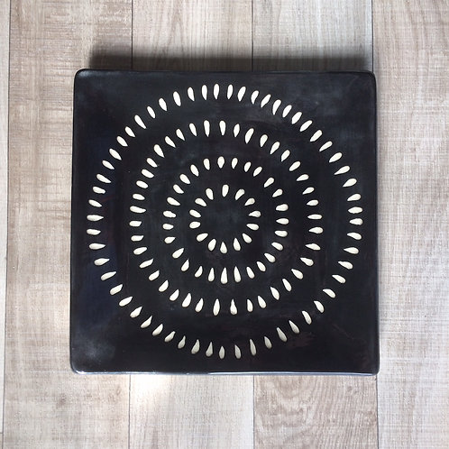 Concentric Circles Plate