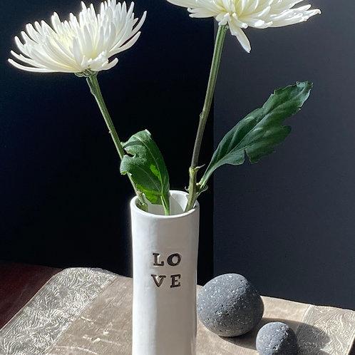 Love Bud Vase
