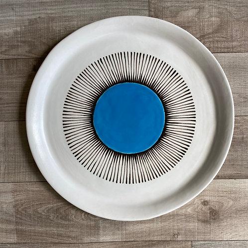 Radiant Turquoise Platter