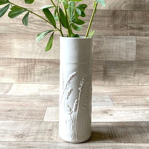 Narrow Lavender Vase