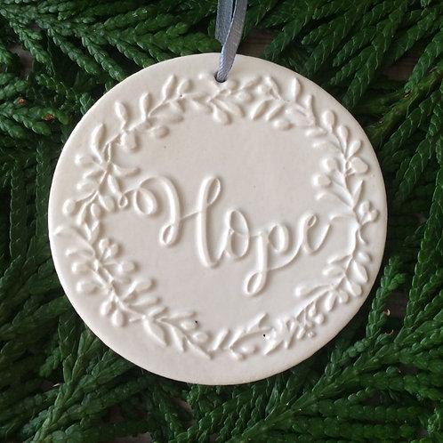 Hope Wreath Ornament