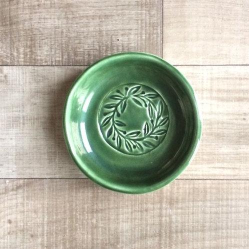 Olive Wreath Dip Bowl