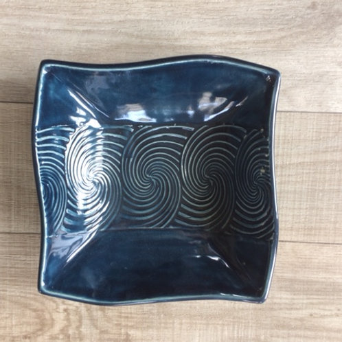 Square Swirl Bowl