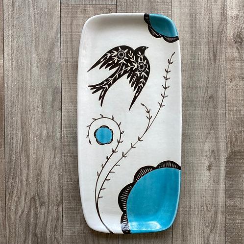 Large Sparrow Platter