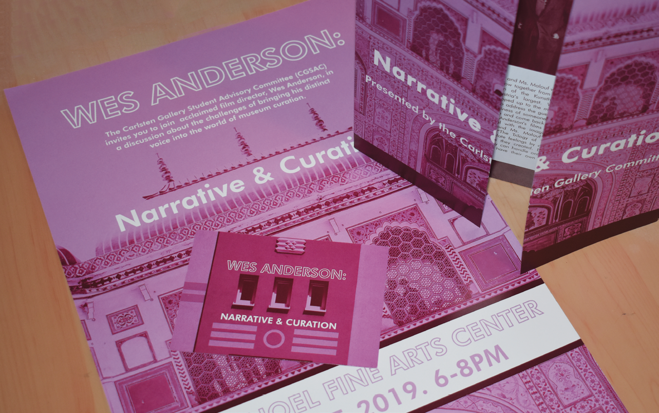 Wes Anderson Promotional Suite