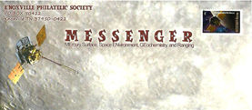 Messenger: First Spacecraft to Orbit Mercury stamp on September 2011